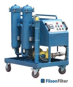 High Viscosity Filter Cart System