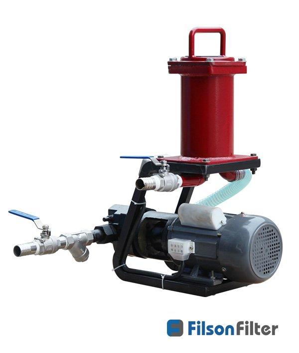 handheld mobile oil filtration unit
