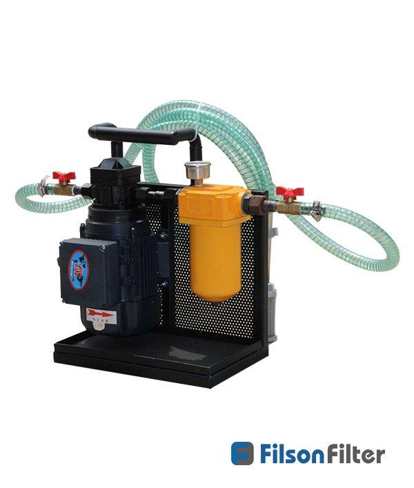 handheld oil purification machine