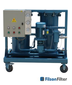 high solid oil filtration systems