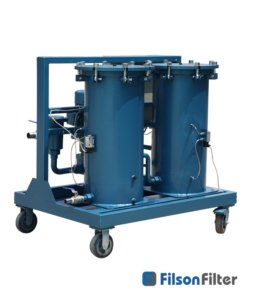 high solid oil purification systems