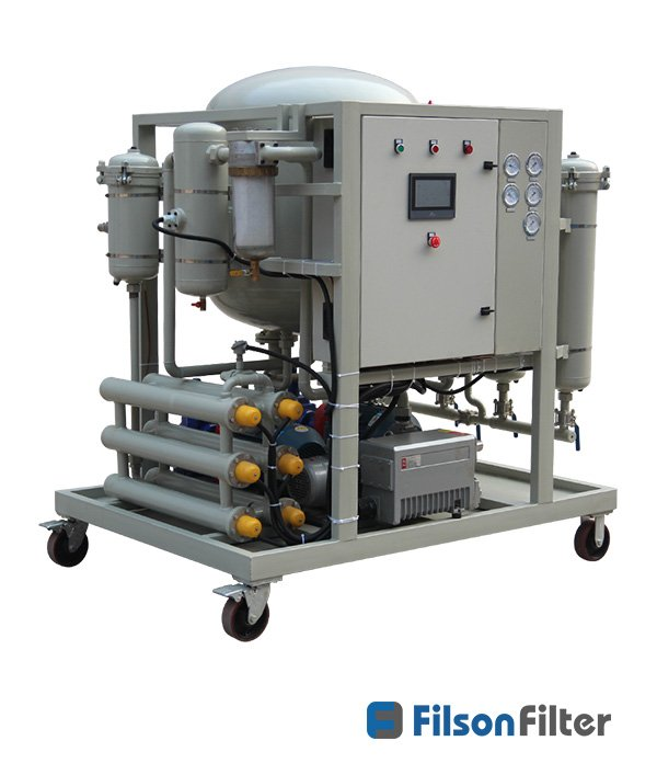 vacuum dehydration oil purification system