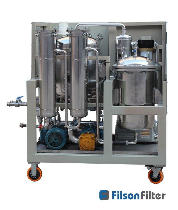 vacuum dehydrator oil purification system