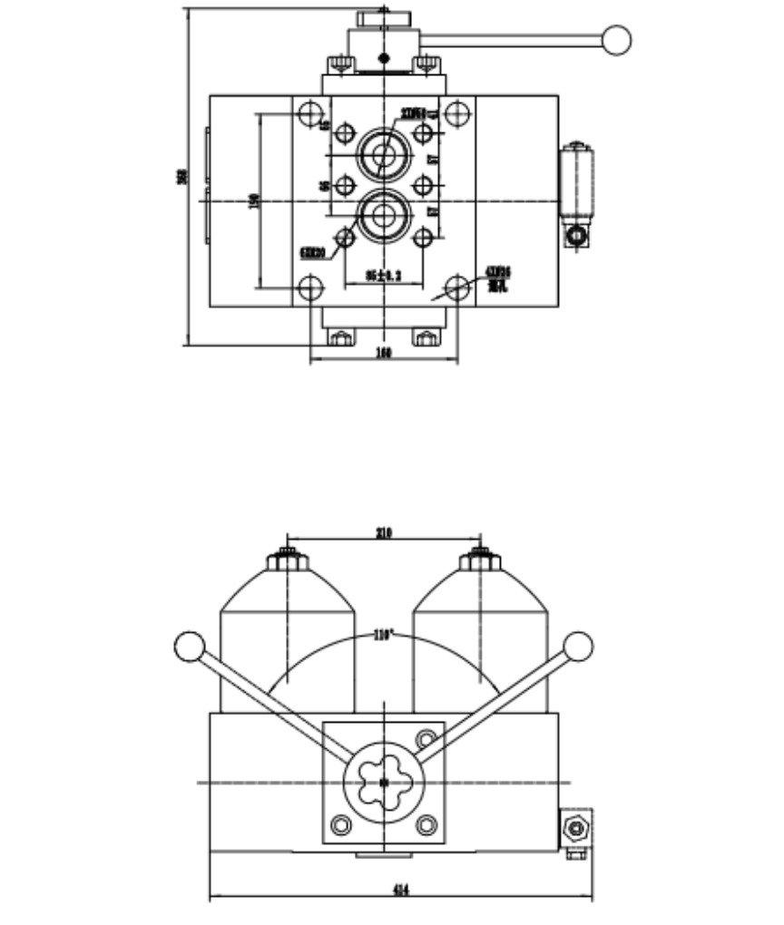 duplex high pressure filters high pressure oil filter