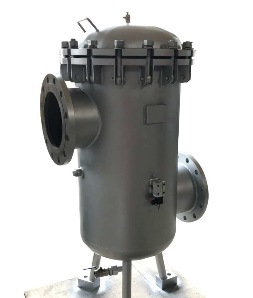 Inline Filters on Inline Hydraulic Filter Housing
