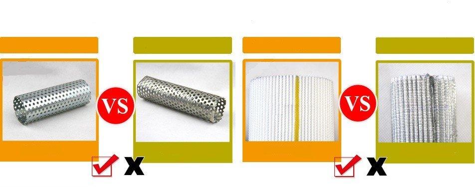 duplex filter elements