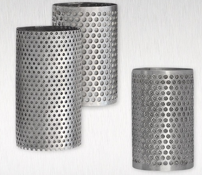 Different types of filter elements