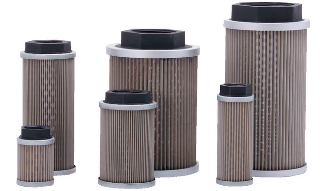filter elements in hydraulic system