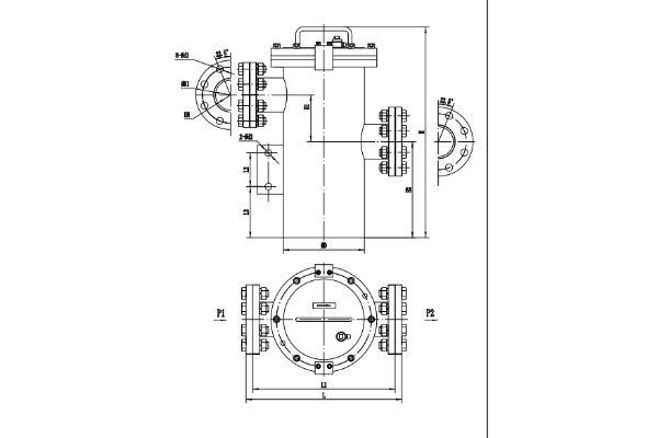 simplex basket strainer drawing