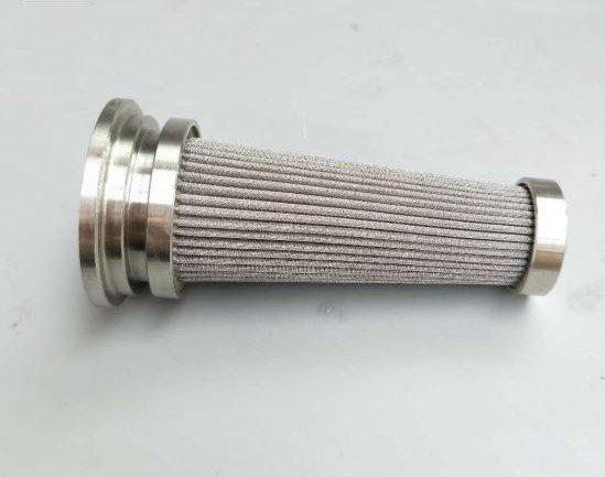 High pressure hydraulic filter