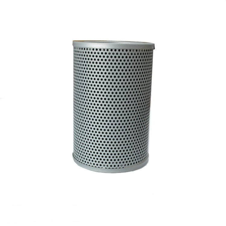 Hydraulic filter element with aluminum casing