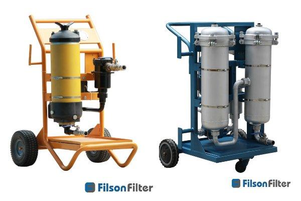 Filson hydraulic filter cart