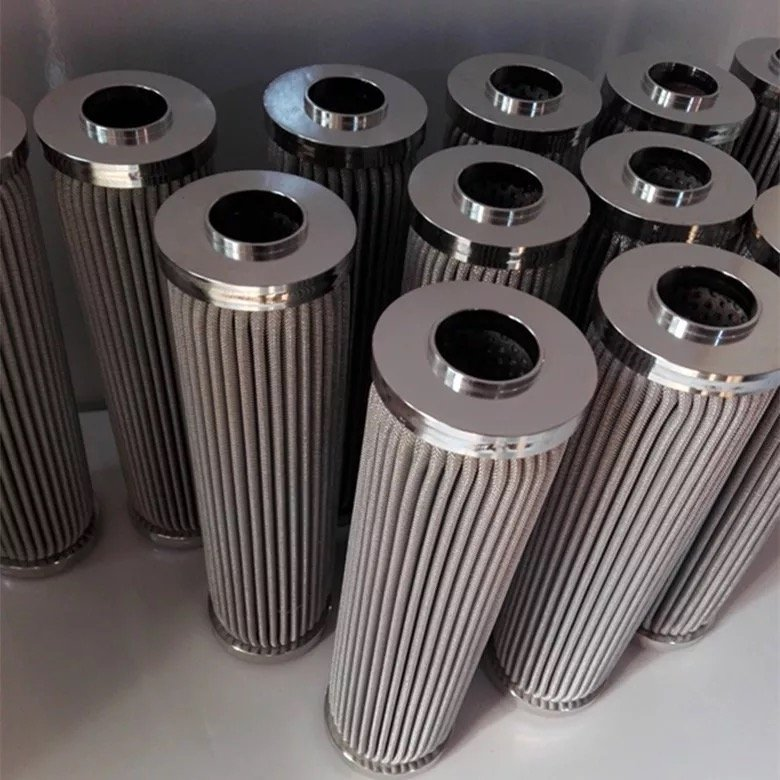 stainless steel oil filter element