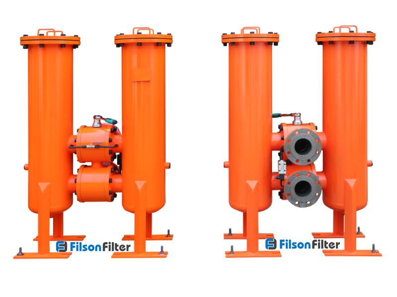 Duplex filter and strainer