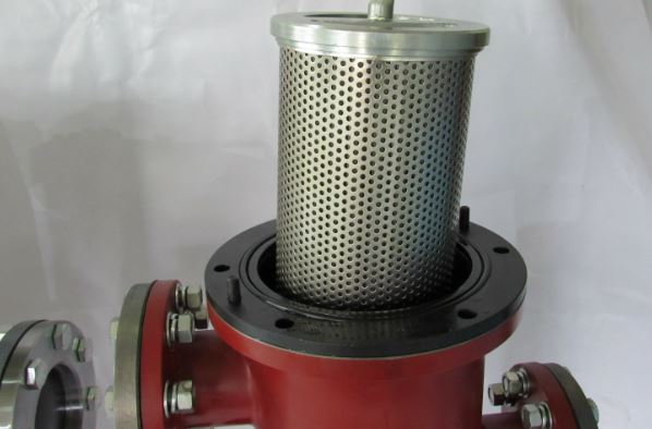 Figure 7 - Simples basket strainer