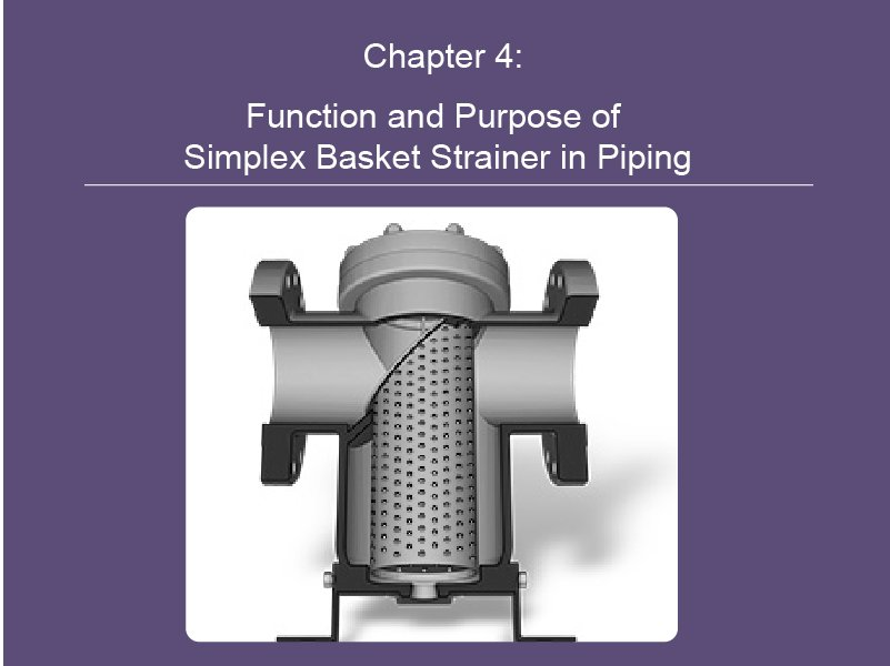 Function and Purpose of Simplex Basket Strainer in Piping