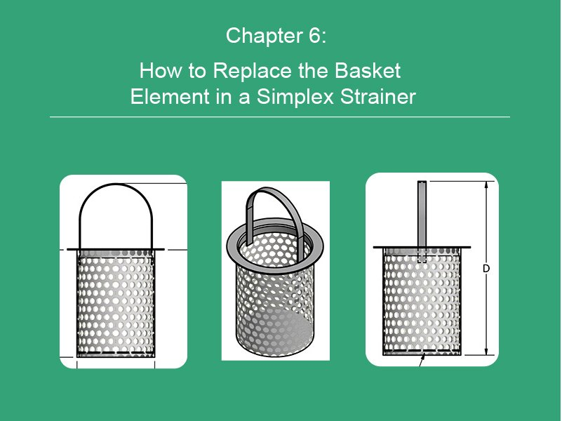How to Replace the Basket Element in a Simplex Strainer