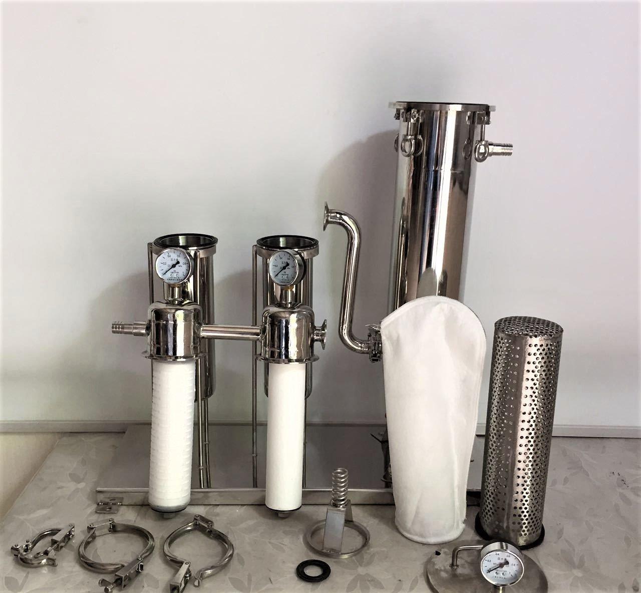 bag filter vessel