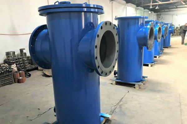 simplex industrial strainer