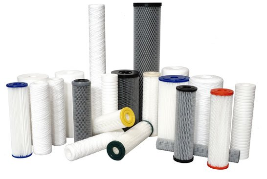Different types of sediment filter cartridge
