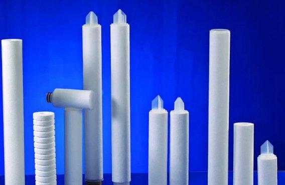 Different sizes of melt blown filter cartridge