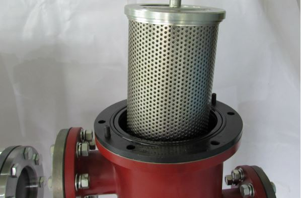Fabricated basket strainer
