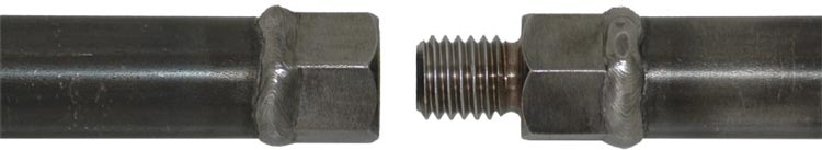 Threaded connection type