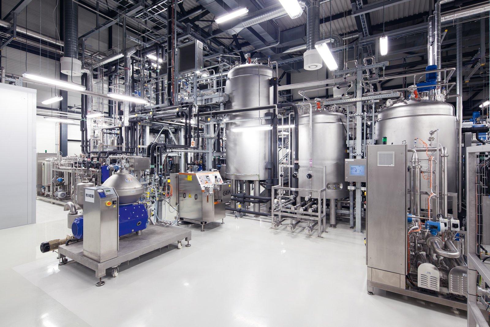Sugar-production-plant