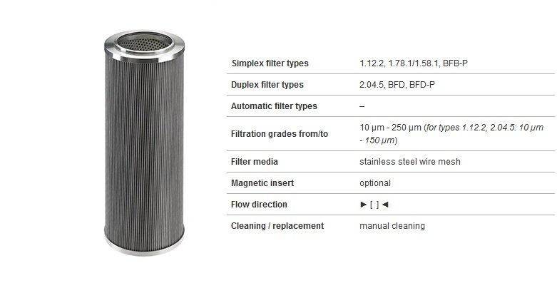 Pleated star filter element