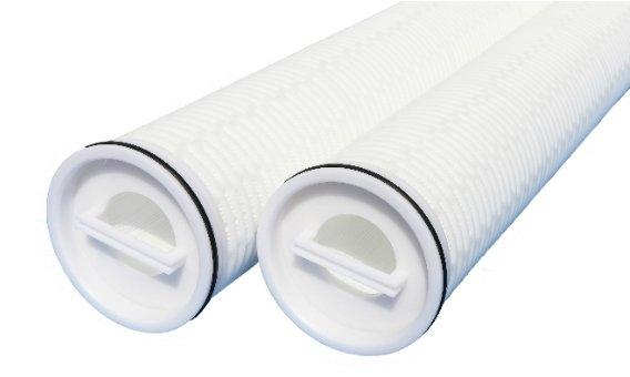 High flow cartridge filter