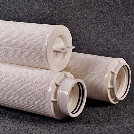 High flow filter cartridge