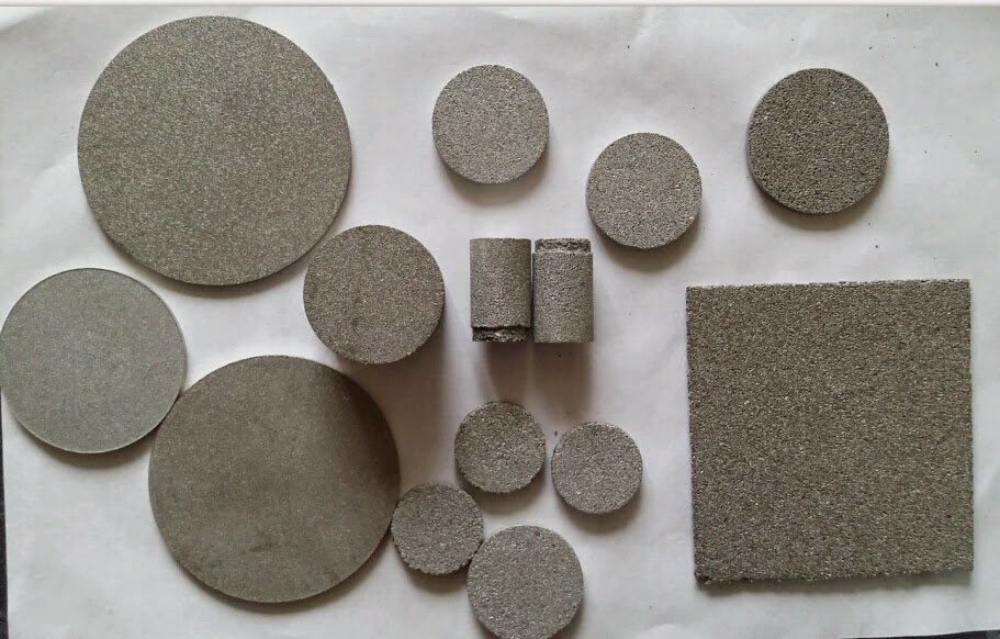 Cut Sintered stainless steel parts