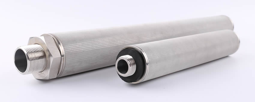 Metal cartridge filter