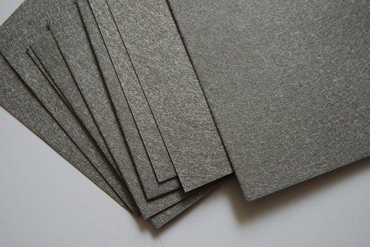 Sintered fiber felt