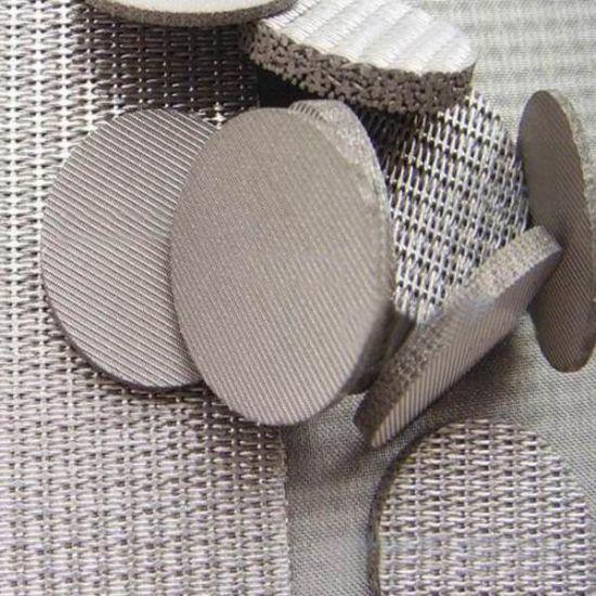 Sintered wire mesh
