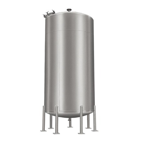 Vertical chemical storage tank