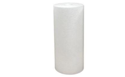 Spun water filter
