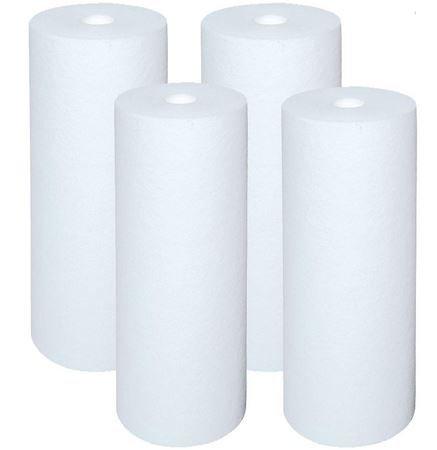 High temperature water filter cartridge