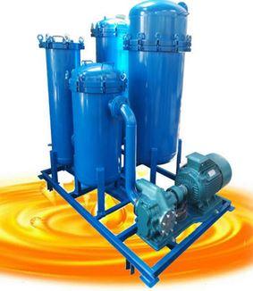 non continous oil purifier