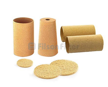 1.Sintered Bronze Filter Element-