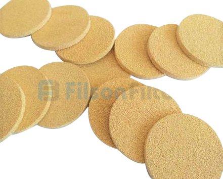 2. Sintered Bronze Filter Discs-