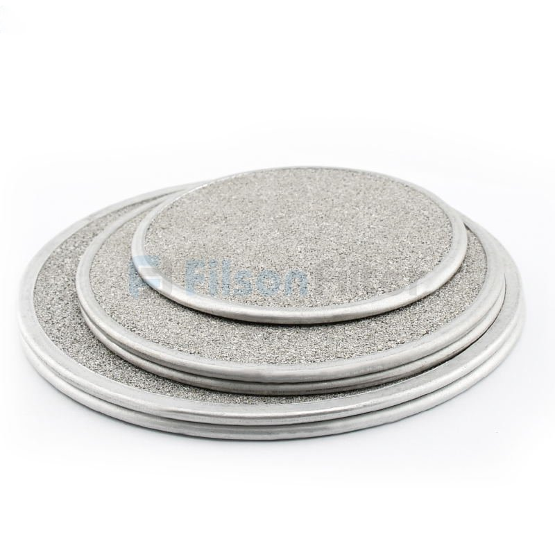 Porous Stainless Steel Filter Disc