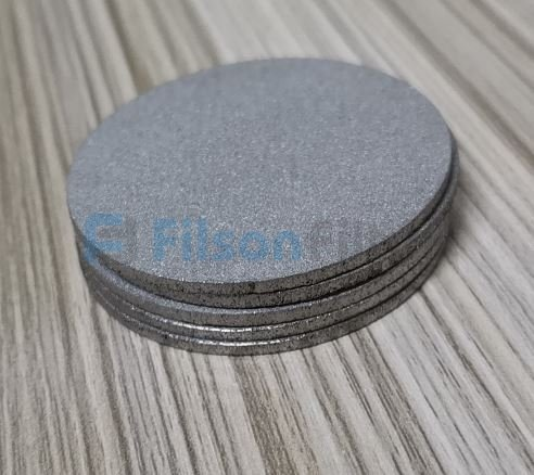 porous metal disc