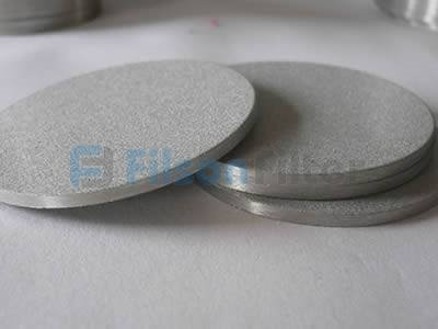 porous stainless steel disc