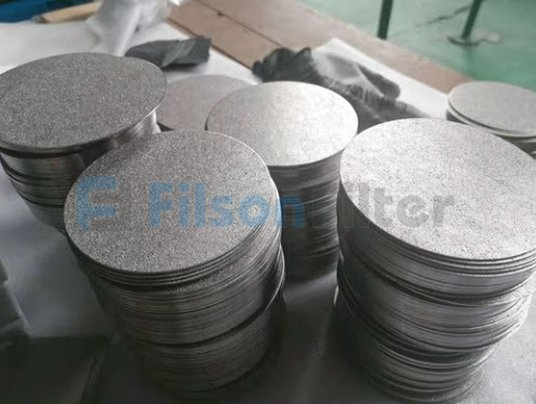 porous stainless steel discs-