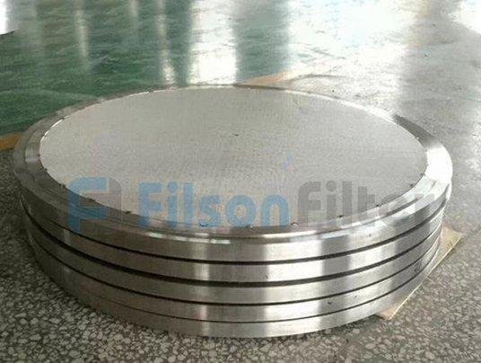 sintered filter disc-