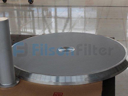 sintered metal filter disc-