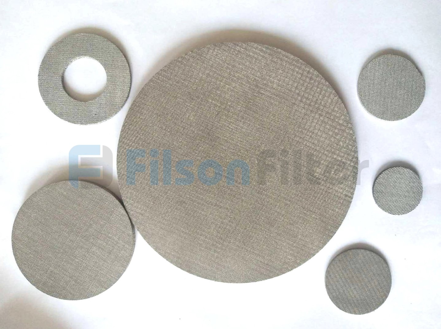 sintered stainless steel discs