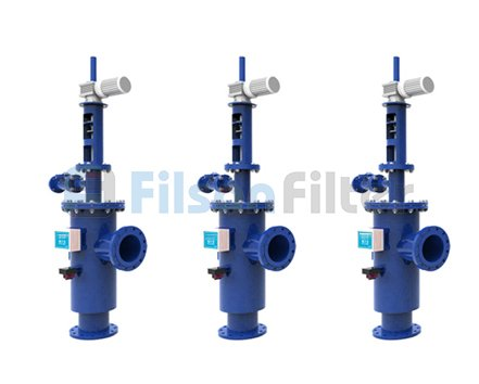Self Cleaning Water Filter