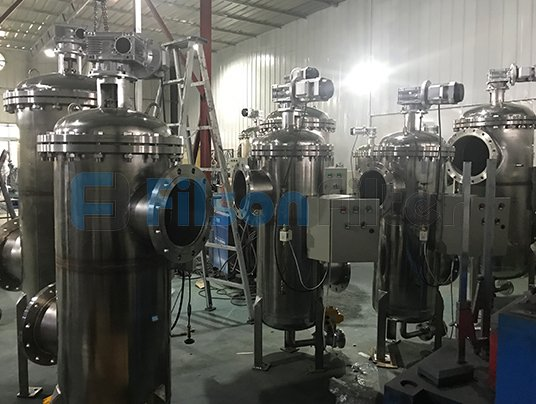self cleaning filter automatic strainer